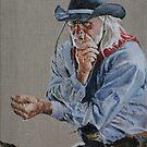 Thinking Cowboy by David McEwen