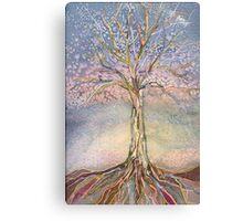 Puzzle Tree Canvas Print