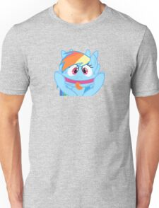 Rainbow Dash Bigger Unisex T-Shirt