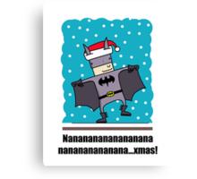 Holy Night Batman! Canvas Print