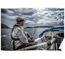 Cruising The Stockholm Archipelago Poster