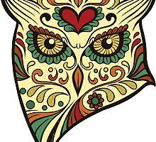 Calavera Owl by viSion Design