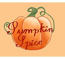 Pumpkin Spice Photographic Print