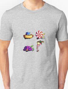 Sonic team + favorite foods Unisex T-Shirt