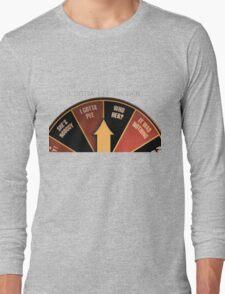 Scott Pilgrim's wheel of indecision Long Sleeve T-Shirt