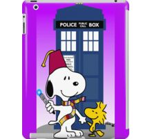 Snoopy doctor who  iPad Case/Skin