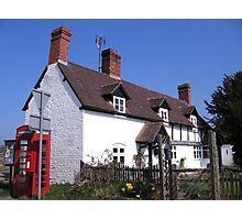 Shropshire Cottage Photographic Print