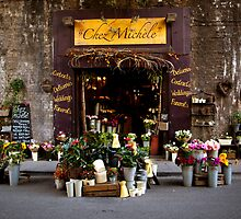 Chez Michele florist  at Borough Market by ClaudineCook