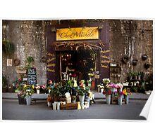 Chez Michele florist  at Borough Market Poster