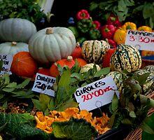 Seasonal produce at Borough Market by ClaudineCook