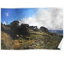 Pennine Way on Saddleworth Moor Poster