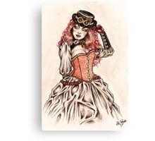 Lady Noir Canvas Print