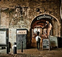 Rustic exit at the Borough Market by ClaudineCook