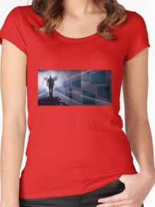 Subway1 Women's Fitted Scoop T-Shirt