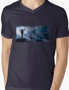 Subway1 Mens V-Neck T-Shirt