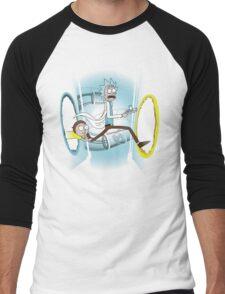 Rick and Porty - shirt phone and ipad case Men's Baseball ¾ T-Shirt