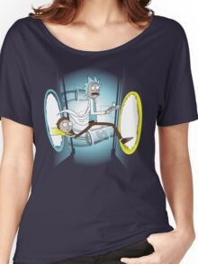 Rick and Porty - shirt phone and ipad case Women's Relaxed Fit T-Shirt