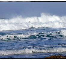 """"""" Storms again  batter Cornwall"""" by Malcolm Chant"""