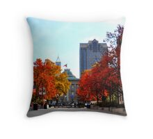 Autumn in Raleigh Throw Pillow