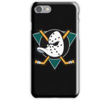 Anaheim Mighty Ducks artwork iPhone Case/Skin