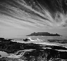 Table Mountain by Rashid Latiff