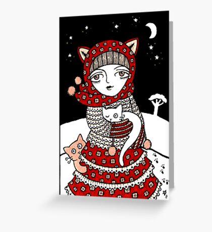 Lumi Kisut Greeting Card