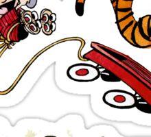 Calvin And Hobbes Sticker