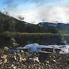 Rocky Shore at Dovestone Reservoir by Welshpixels