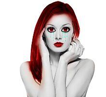 Vampire Girl Photographic Print