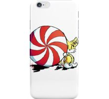 Tails + mint candy iPhone Case/Skin