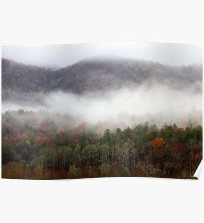 Morning In The Smokies Poster