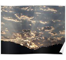 Unique landscape in morning mood - Puerto Vallarta Poster