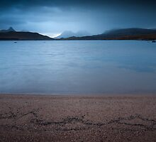 Stac Pollaidh from Loch Bad a' Ghaill, Assynt, Scotland by Michael Marten