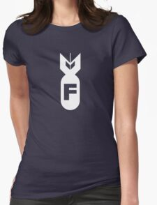 F Bomb Adult Humor Funny Womens Fitted T-Shirt