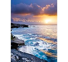 Sunset in Ireland Photographic Print
