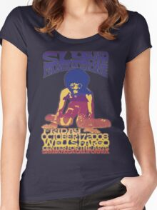 FAMILY STONE Women's Fitted Scoop T-Shirt