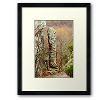 Devil's Smokestack Framed Print