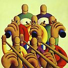 8 Soft Musicians in freespace by Alan Kenny