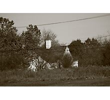 Old Small Town Church Photographic Print