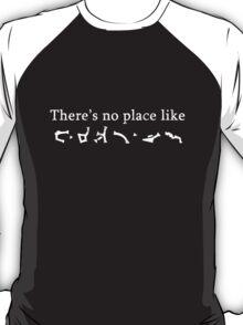 Stargate Earth Gate Address T-Shirt