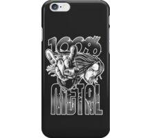 100% METAL iPhone Case/Skin
