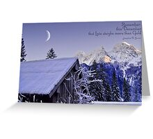 Remember this December! Greeting Card