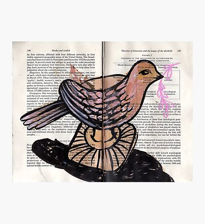 Altered Book 8 Photographic Print