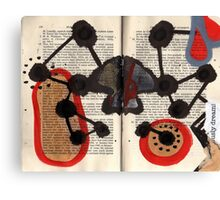 Altered Book 7 Canvas Print