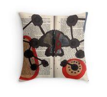 Altered Book 7 Throw Pillow
