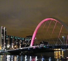 Squinty Bridge, Glasgow by ElsT