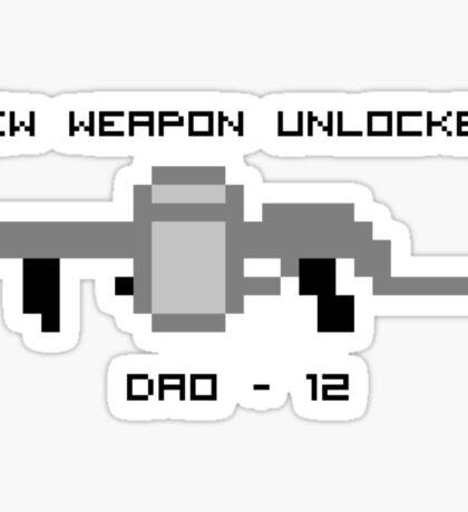 New Weapon Unlocked! DAO-12 Sticker