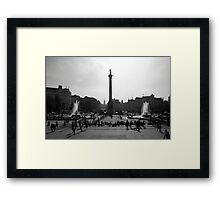 London time Framed Print
