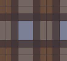 Outlander Inspired Tartan Plaid by ObsurdDesigns