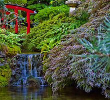 Canada. BC. Butchart Gardens. Japanese Garden. by vadim19